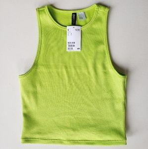 Lime Green Crop Halter